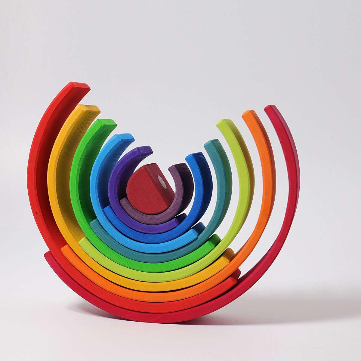 Câte opțiuni pentru aranjarea culorilor curcubeului. Câte culori sunt în curcubeu și ce
